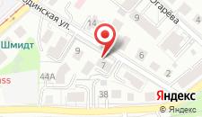 Отель БЛЮЗ на карте