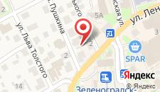 Гостевой дом Домик Гудовича на карте