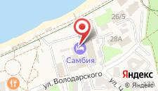 Гостиница Самбия на карте