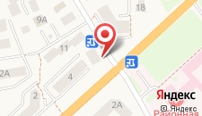 Гостевой дом Дюна-центр на карте