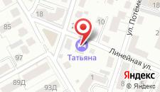 Гостиница Вилла Татьяна на карте