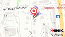 Арт-отель Пушкин Холл на карте