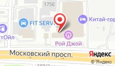 Гостиница Мартон Олимпик на карте