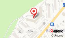 Курортный отель Лесная песня на карте