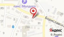 Отель Red Stone на карте