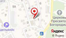 Отель Ре Вита на карте