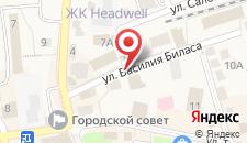 Отель Кристина на карте