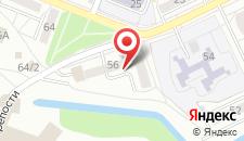 Апартаменты Героев обороны на карте