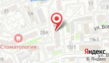 Апартаменты На Воровского 25 на карте