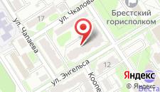 Апартаменты Енгельса на карте