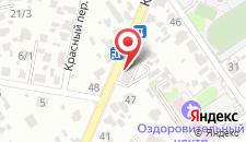 Апартаменты На Красногвардейской на карте