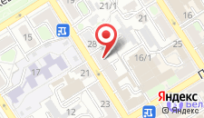 Апартаменты Комсомольская 30 на карте
