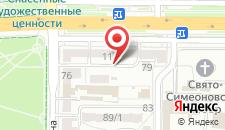 Апартаменты на Машерова 11 на карте