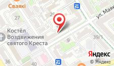 Апартаменты на Маяковского на карте