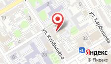 Апартаменты На Карбышева 10 на карте
