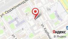 Апартаменты SergeApart на Карбышева на карте