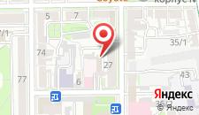Апартаменты На Советских Пограничников на карте