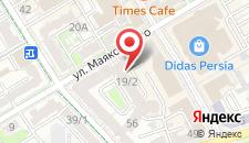 Апартаменты Маяковского 19/1 на карте
