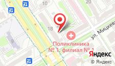 Апартаменты Мицкевича на карте