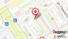 Апартаменты Comfy на Кирова на карте