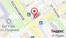 Апартаменты Космонавтов 40 на карте
