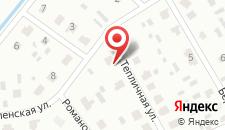 Гостевой дом Александр на карте