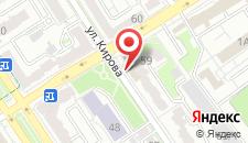 Апартаменты Bresthouse Apartment on Pushkinskaja 59 на карте