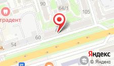 Апартаменты Машерова 64 на карте