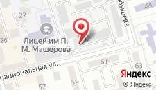 Апартаменты Интернациональная на карте