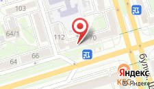 Апартаменты Машерова 70 на карте