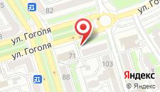 Апартаменты на Гоголя Центр на карте