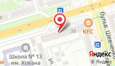 Апартаменты Вояж на карте