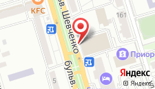 Отель Беларусь на карте