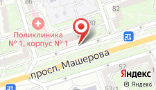 Апартаменты PaulMarie Apartments на Машерова 80 на карте