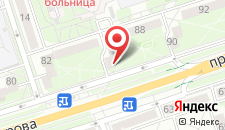 Апартаменты У Евгена на Машерова 86 на карте