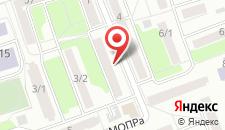 Апартаменты На Мопра на карте