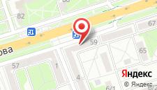 Апартаменты Машерова 59 на карте