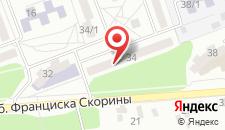Апартаменты Скорины на карте