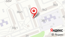 Апартаменты Клик на карте