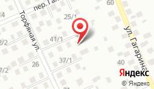 Гостевой дом на Торфяной на карте