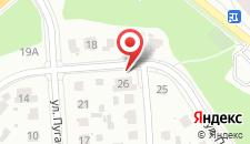 Вилла на Варшавке на карте