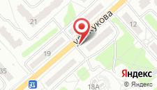 Апартаменты Жукова на карте
