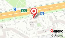 Апартаменты Гребной канал на карте