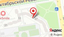 Отель на Октябрьской Революции, 37 на карте