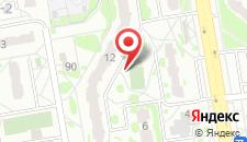 Апартаменты Волгоградская 8 на карте