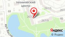 Апартаменты Московская 267 на карте