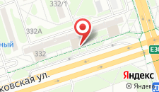 Апартаменты На Московской 332 на карте
