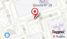 Апартаменты на Орловской на карте