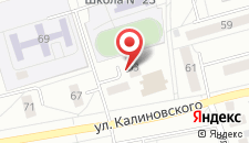 Апартаменты Калиновского 63 на карте