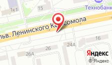 Апартаменты БЛК на карте